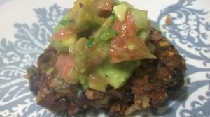 Bean Patties with Citrus Salsa